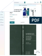 Bendat and Piersol - Random Data - Analysis and Measurement Procedures (2Nd Ed 1986)