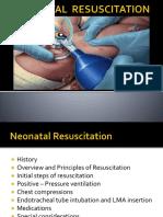 Neonatal Resuscitation Programme