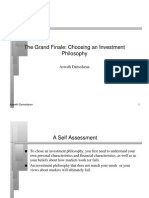 Investment Philosophies Finale