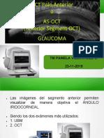 Clase as Oct en Glaucoma