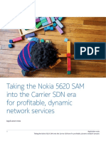 Taking the Nokia 5620 SAM into the Carrier SDN era for profitable, dynamic network services.pdf