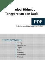 Radiologi Hidung , Tenggorokan Dan Dada