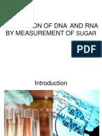 Estimation of DNA & RNA
