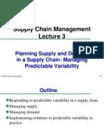 Predicatable variability