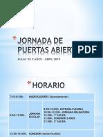 JORNADA DE PUERTAS ABIERTAS 2019.pptx