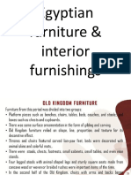 20594_lec6-Egyptian Period, Furniture & Interior Furnishing