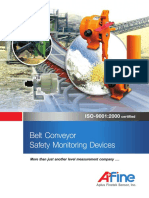 Belt Conveyor Safety Monitoring Devices Catalog