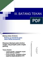 III. B. TEKAN