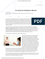 Do You Have an External Validation Mental Model_ _ Psychology Today