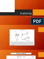 1.Thompson and Compton Scattering Presentation_Based on Chapter 6 Johns