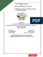 CUSTOMER SATISFACTION OF COLGATE.docx