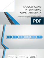 Analyzing and Interpreting Qualitative Data