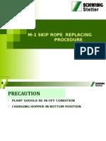 53-M-1 Plant Skip Rope Replacing Procedure