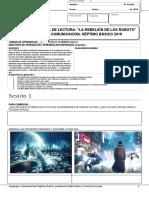 EVALUACIÓN INICIAL DE LECTURA LA REBELION DE LOS ROBOTS 7B 2019.docx
