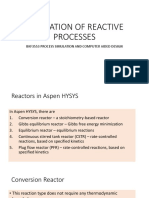 Simulation of Reactive Processes