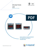 Elmeasure Multifunction Meter Catalog