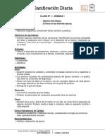 Planificacion Diaria Lengua y Literatura 7B semana 1 2016.docx