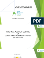 QMS 9001 2015 Internal Auditor Course - Aspiris Management Systems Pvt Ltd.pptx