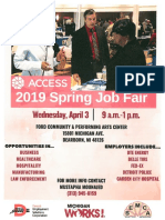 PDF Job Fair Flyer