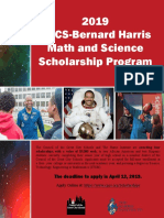 BH Scholarship Program Flyer-2019