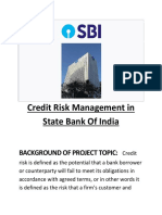 CREDIT RISK MANAGEMENT ON HDFC BANK