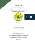 Makalah Kelompok 6 (Zat Aditif Dan Zat Adiktif) Kimia Pangan