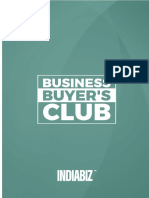 Indiabiz Business Buyer's Club Booklet