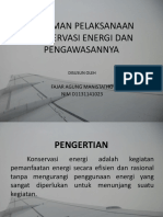 11.PEDOMAN PELAKSANAAN KONSERVASI ENERGI DAN PENGAWASANNYA (fajar).pptx