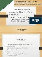 Plano de Recuperação Do Arroio Diluvio Porto Alegre RS