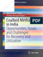 Ajay Kumar Singh,Partha Narayan Hajra (Auth.) - Coalbed Methane in India_ Opportunities, Issues and Challenges for Recovery and Utilization-Springer International Publishin