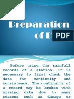 3 Preparation of Data