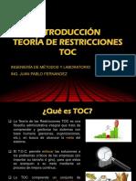 Cap. 3 Introduccion Teoría de Restricciones
