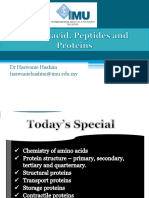 Amino Acid, Peptides and Proteins1