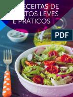 7 RECEITAS DE PRATOS LEVES E PRÁTICOS