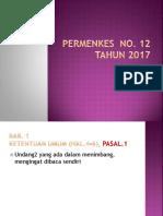 Materi Workshop Imunisasi 2 Nop 17\Permenkes No 12 Thn 2017 Ok