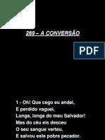 269 - A CONVERSÃO.ppt