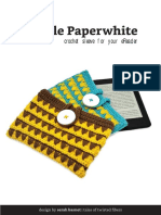 Kindle Paperwhite Sleeve Free Crochet Pattern Tales of Twisted Fibers