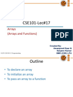 Lecture17!17!11266_arrays and Function