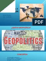 Geopolitica y Geoestrategia