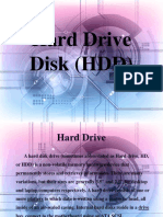 Hard Drive Disk Ppt