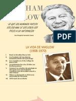 Presentación de Maslow