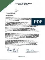 Bipartisan Bicameral Letter on Syria