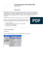 NetBeans IDE Project Basics Printable