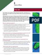 TB Fact Sheet Visa