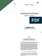 Ricardo Gomez Neoliberalimo Globalizado.pdf
