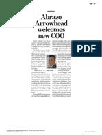 Abrazo Arrowhead welcomes new COO