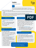 fundraising centre one pager
