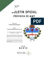 BOLETÍN OFICIAL Nº 22 ANEXO – 20/02/19