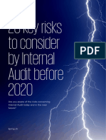 Key Risks Internal Audit 2018
