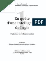 #Socio# EN QUÊTE D'UNE INTELLIGENCE DE L'AGIR par Mesnier et Vandernotte ISBN 2-296-96226-2 • 2012 • 244 pg OCR 72.pdf